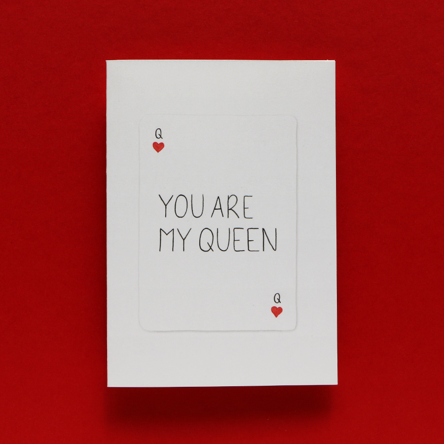 Kaart_You_are_my_Queen_001